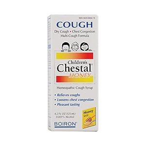 Boiron Children's Chestal Cough Syrup Honey - 4.2 fl oz Boiron Children's Chestal Cough Syrup Honey