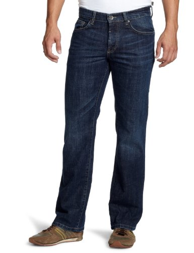 Camel Active Pendelton Relaxed Men's Jeans Dark Wash Denim W36INxL30IN