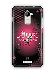 YuBingo Music is Who I am Mobile Case Back Cover for Coolpad Note 3 Lite