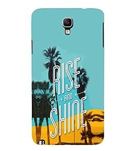 EPICCASE Rise N Shine Mobile Back Case Cover For Samsung Galaxy Note 3 Neo (Designer Case)