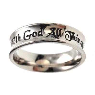 Christian Women's Stainless Steel Abstinence
