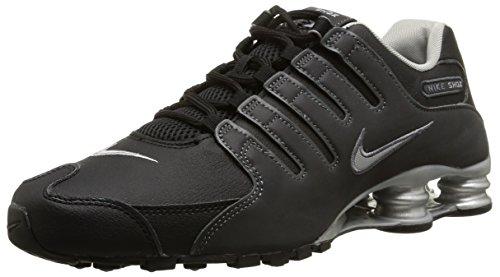 Nike Herren, , shox nz eu, mehrfarbig (blk/rflct slvr-anthrct-mtllc s), 42.5