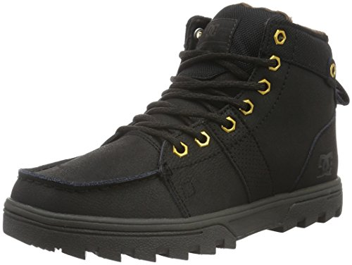 dc-shoes-mens-woodland-cold-lined-calf-length-boots-and-ankle-boots-black-schwarz-black-camo-blo-9-u