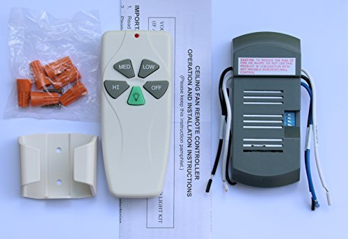Universal Ceiling Fan Remote Control Kit (Ceiling Fan Install Kit compare prices)