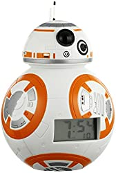 Bulb Botz 'Star Wars' Automatic White/Orange Alarm Clock (Model: 2020503)
