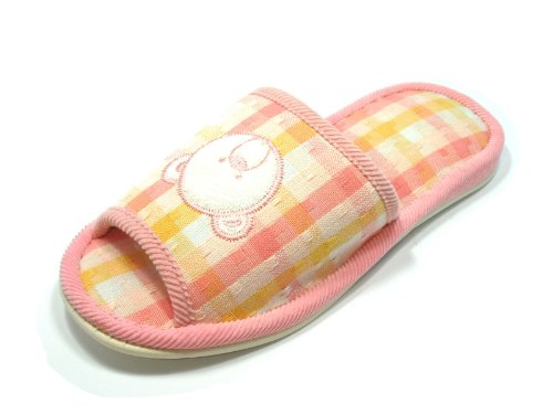 Ja26029/comfortable Teddy Bear Design House Slippers