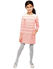 2 Piece Tunic Dress & Tights Outfit