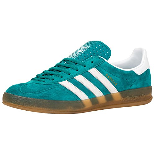 Adidas Originals Gazelle Indoor, Verde (Equipment Green/Run White), 12 UK