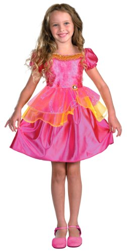 Girls Liana Barbie Costume - Child Medium