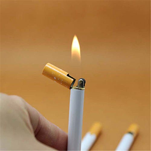 Ardisle Cigarette Refillable Butane Gas Smoking Cigar Lighter Gagdet Thin Pocket