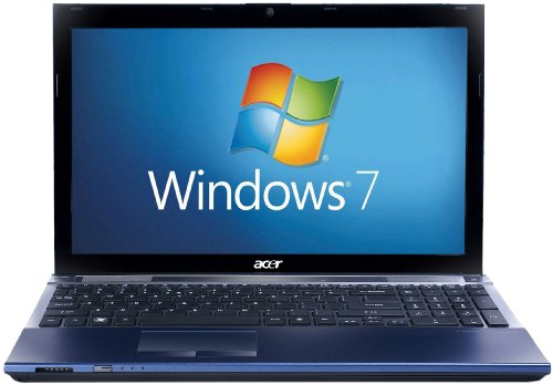 Acer Aspire Timeline X 5830T 15.6 inch Laptop (Intel Core i3-2310M Processor, 6GB RAM, 640GB HDD, Windows 7 Home Premium) - Blue