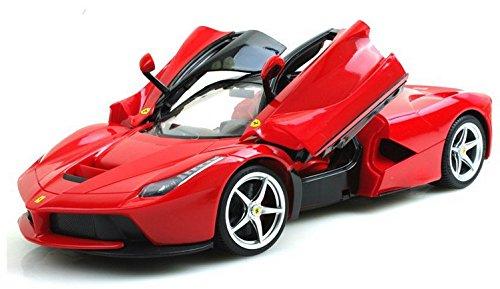 Brigamo-430-Komplettset-inkl-Batterien-Ferrari-LaFerrari-Modellauto-Flgeltrer-114-Ferngesteuertes-Auto-RC-Auto-mit-Fernsteuerung
