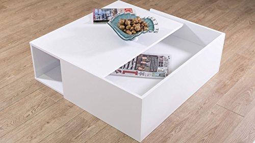 Spectacular White Oak Veneer Nuvola White Oak Large Coffee Table