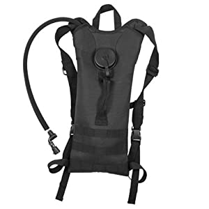 Rothco Black M.O.L.L.E. 2-Liter Backpack Hydration System [Misc.]
