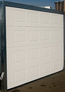 Porte de garage sectionnelle 300x200 k7 blanche - Porte de garage sectionnelle 300 x 200 ...