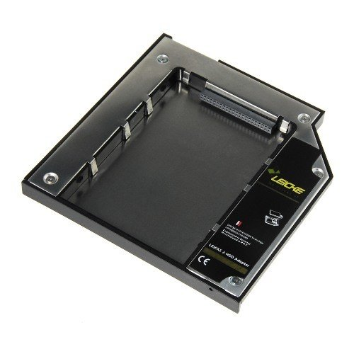 LEICKE - Adaptador universal PATA/IDE . 2° Adaptador de Disco duro | Altura 10 mm - 2 HDD