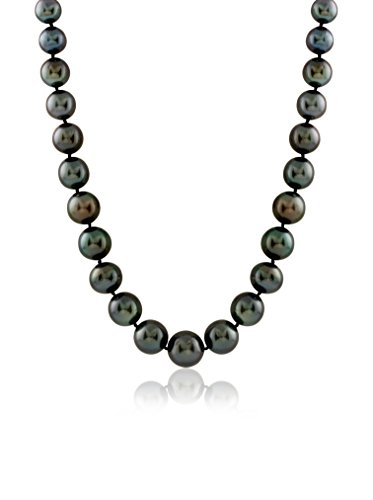 Splendid Pearls TW-1014B Tahitian Pearl Necklace