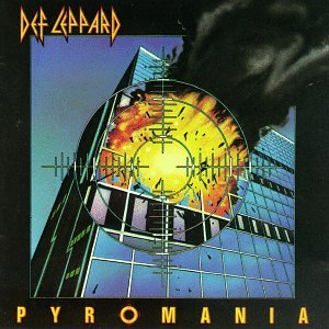 "Cover of ""Pyromania"""