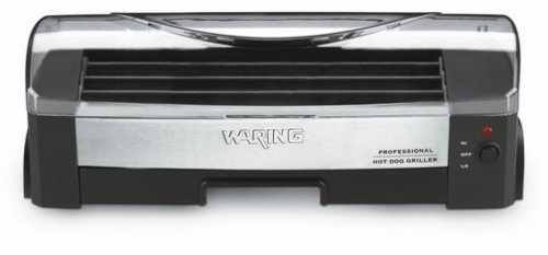 Waring Pro Hdg100 200-Watt Hot-Dog Griller