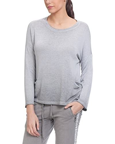 Tantra Pullover Knitted With Sequins Pockets And Back Opening [Beige]