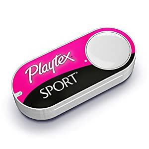 Playtex Sport Dash Button by Amazon