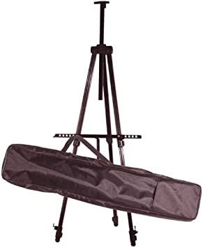 Art Advantage Aluminum Field Easel With Case