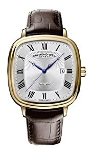 Raymond Weil Maestro Automatic Silver Dial, Alligator Strap Men's Watch 2867-PC-00659