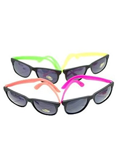Neon 80's Style Party Sunglasses (2 Dozen) by MJ