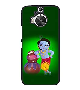 printtech Lord God Krishna Back Case Cover for HTC One M9 Plus