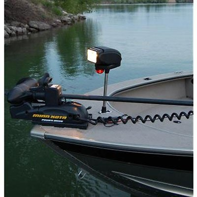 Golight Gobee Bow Mount Searchlight with Red/Green Running Light (Bow Running Lights compare prices)