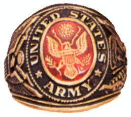 ARMY Deluxe Engraved Ring, 9