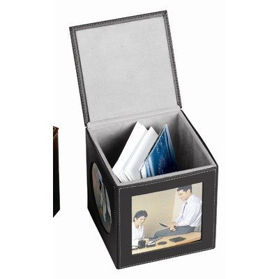 bellino-memory-cube-picture-frame-set-of-4-set-of-2-color-black-by-goodhope-bags