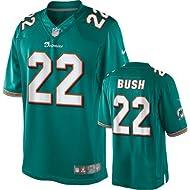 Reggie Bush Miami Dolphins Aqua NFL Youth NIKE Jersey