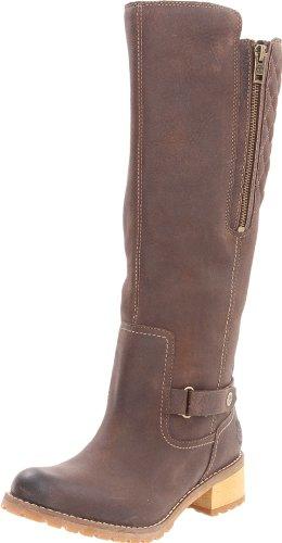 Timberland Women's Apley Tall Dark Brown Waterproof Boots 3254R 7 UK