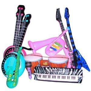 Rock Band Inflate Instrument Set (2 dz)
