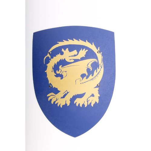 bestsaller-1148-plaque-bleu-or-hdf-dragon-32-x-45-cm