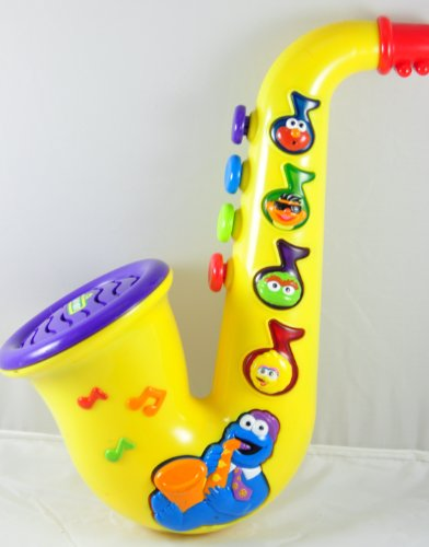 Sesame Street Cookie Monster Musical Saxophone - 1