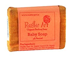 Rustic Art Organic Baby Soap 100 grams