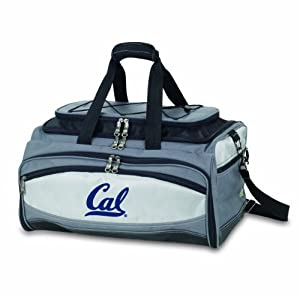 NCAA California Golden Bears Buccaneer Tailgating Cooler with Grill by Picnic Time