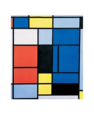 ArtopWeb Pannello Decorativo Mondrian Tableau N 1