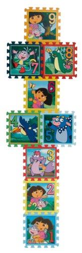 Cheap What Kids Want! Dora The Explorer Hopscotch : Creative Soft Foam Floor Mat (B0008JILGI)
