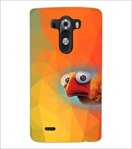 PrintDhaba Cartoon D-4541 Back Case Cover for LG G3 (Multi-Coloured)