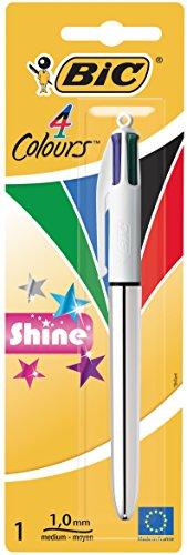 bic-4-color-shine-penna-a-sfera-con-4-colori-dinchiostro-effetto-metallizzato-1-pezzo-colori-assorti