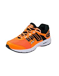 Campus CLONE-2 Men Orange & Black Sport Shoes