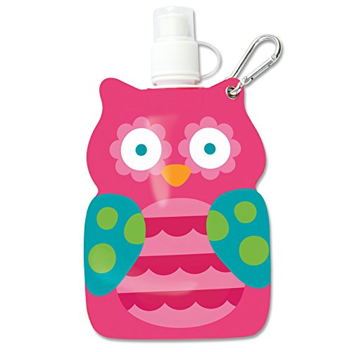 Stephen Joseph Little Squirt - Teal Owl - 1