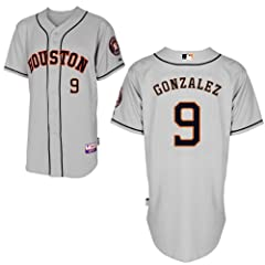 Marwin Gonzalez Houston Astros Road Authentic Cool Base Jersey by Majestic by Majestic