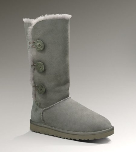 Size 7 UGG® Australia Bailey Button Triplet Grey 7 Womens Boots
