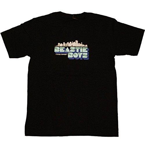 Beastie Boys ビースティ・ボーイズ オルタナティブ・ヒップホップ・バンド プリントTシャツ M 黒 【並行輸入品】