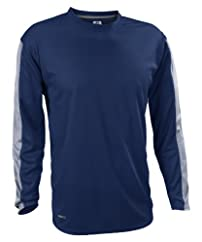 CLOSEOUT Russell Athletic Men's Dri-Power Long Sleeve Color Block Tee