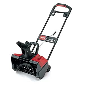 Toro 1800 18-Inch 12 Amp Electric Curve Snow Thrower #38025 (Discontinued by Manufacturer)